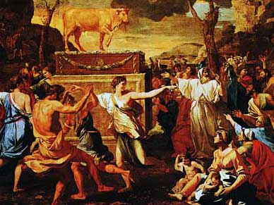 Poussin: Golden Calf