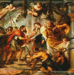 Rubens: Abraham and Melchizedek